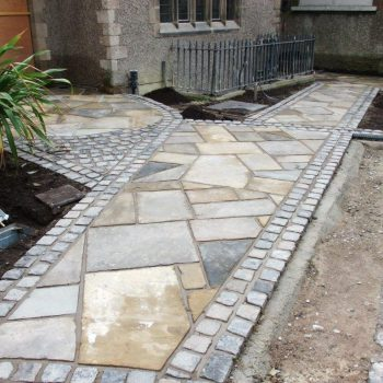 Reclaimed Stone Paving