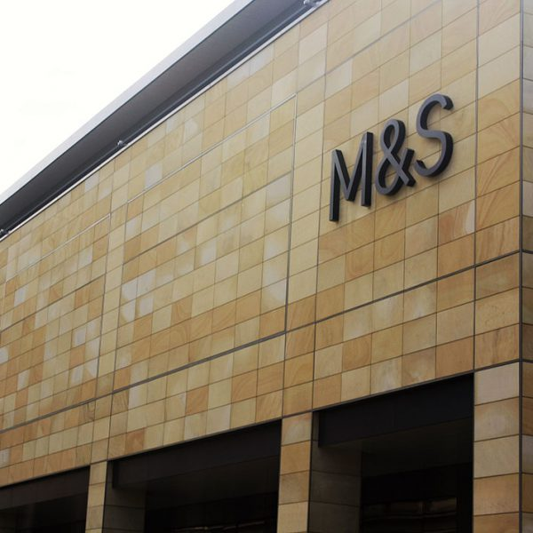 stone rainscreen M&S