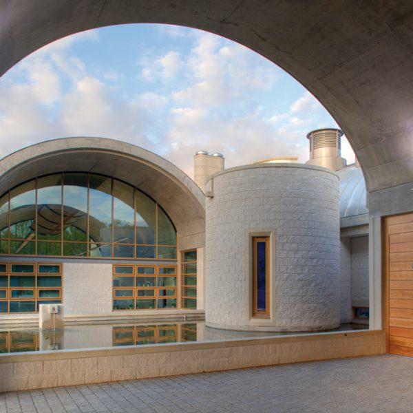 Crematorium masonry