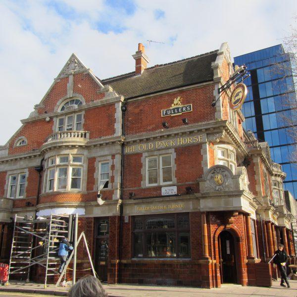 Terracotta Faience pub