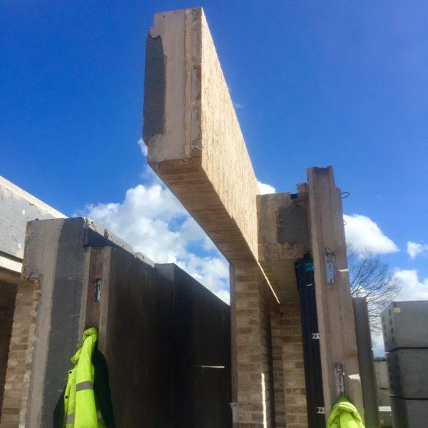 precast brickwork panels