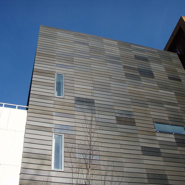 aluminium panels, mesh and flashings