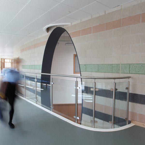 Pontefract School masonry