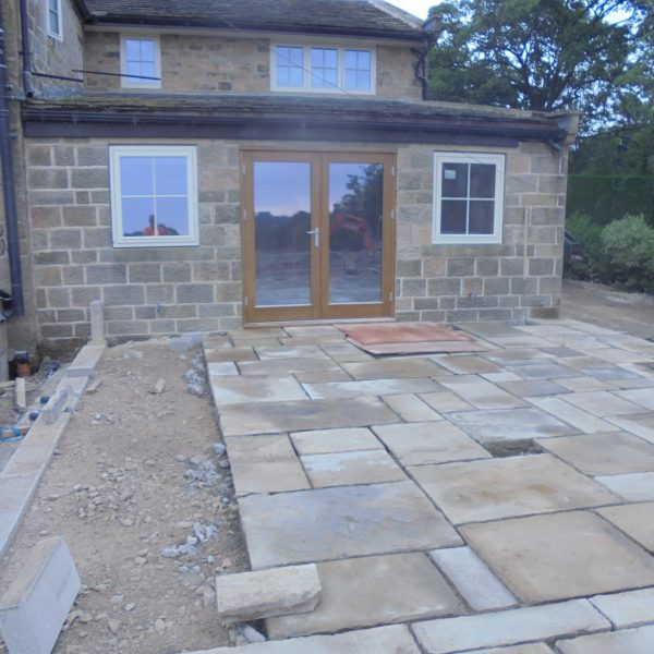 old flags reclaimed stone paving