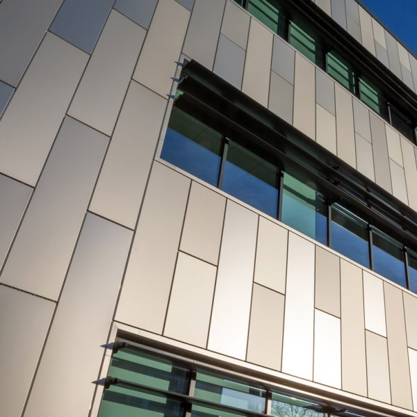 Staffordshire University metal aluminium panels