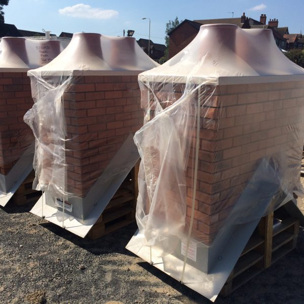 GRP brick chimneys