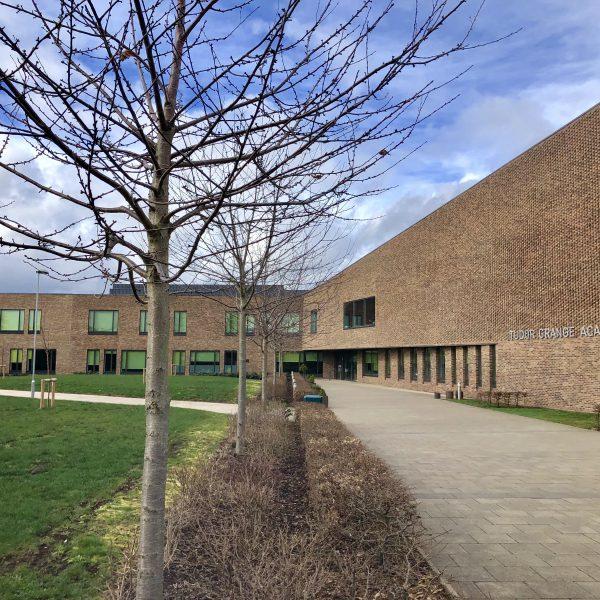 Tudor Grange Academy bricks